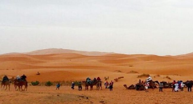 3 Days to the high dunes of Merzouga